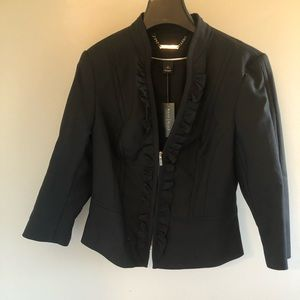 3/4 length crop jacket White House Black Market
